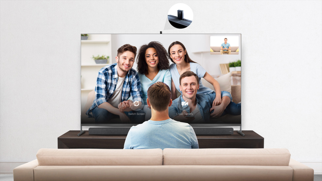 Conecte-se ao bate papo com seus amigos diretamente de TV da TCL