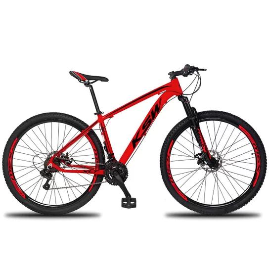 Bicicleta aro 29 KSW - Cambio Shimano