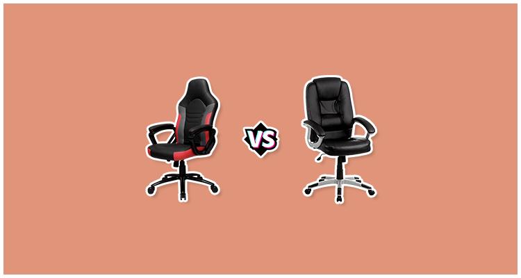 Capa Cadeira Presidente vs Cadeira Gamer