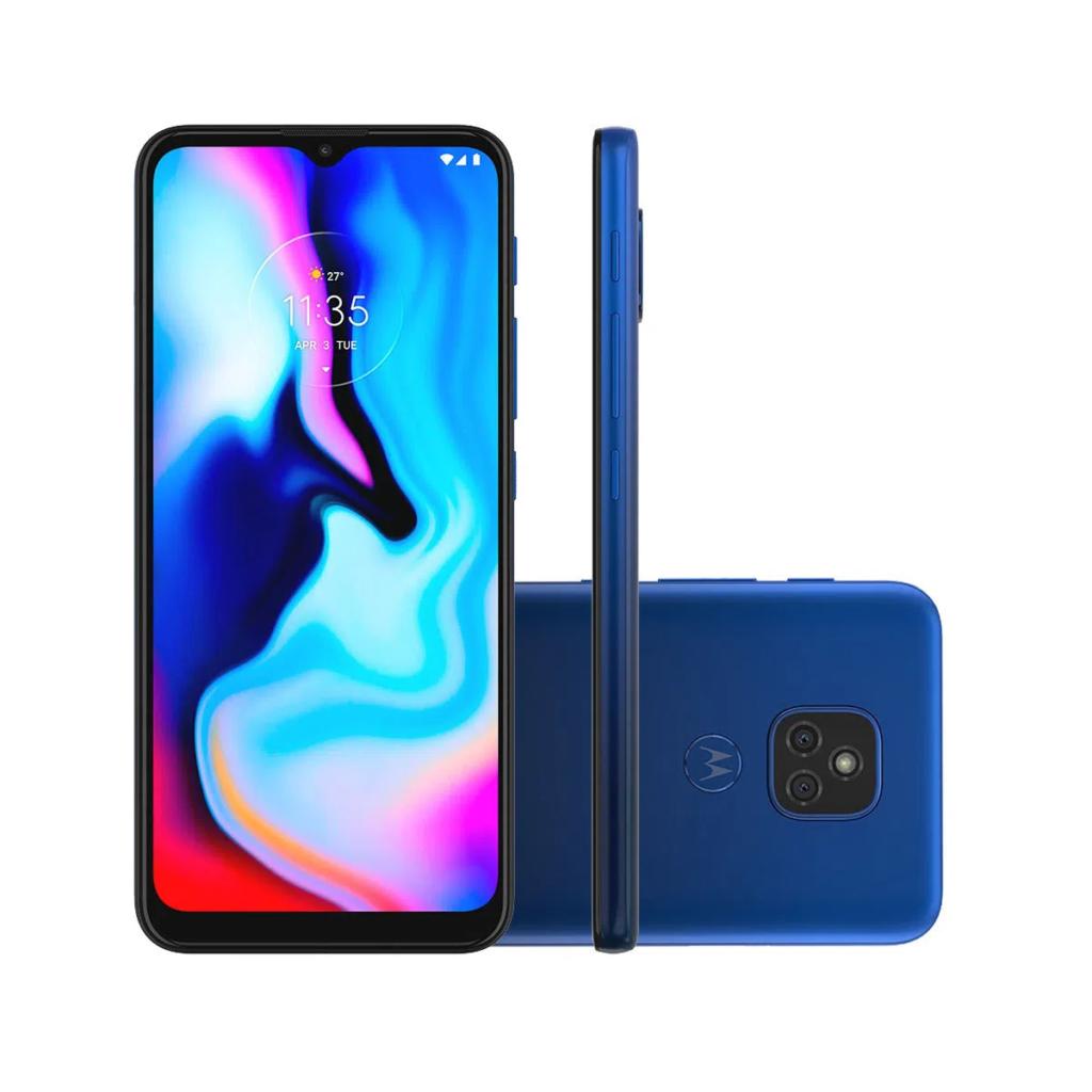 Smartphone Motorola Moto E7 Plus 64GB Azul Navy no Carrefour