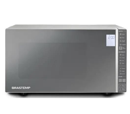 Micro-ondas 32 litros com painel integrado e display LCD
