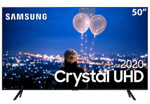 "Cashback Casas Bahia Smart TV LED 50"" UHD 4K Samsung"