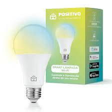 melhores lâmpadas smart: Smart Wi-Fi E27 Positivo