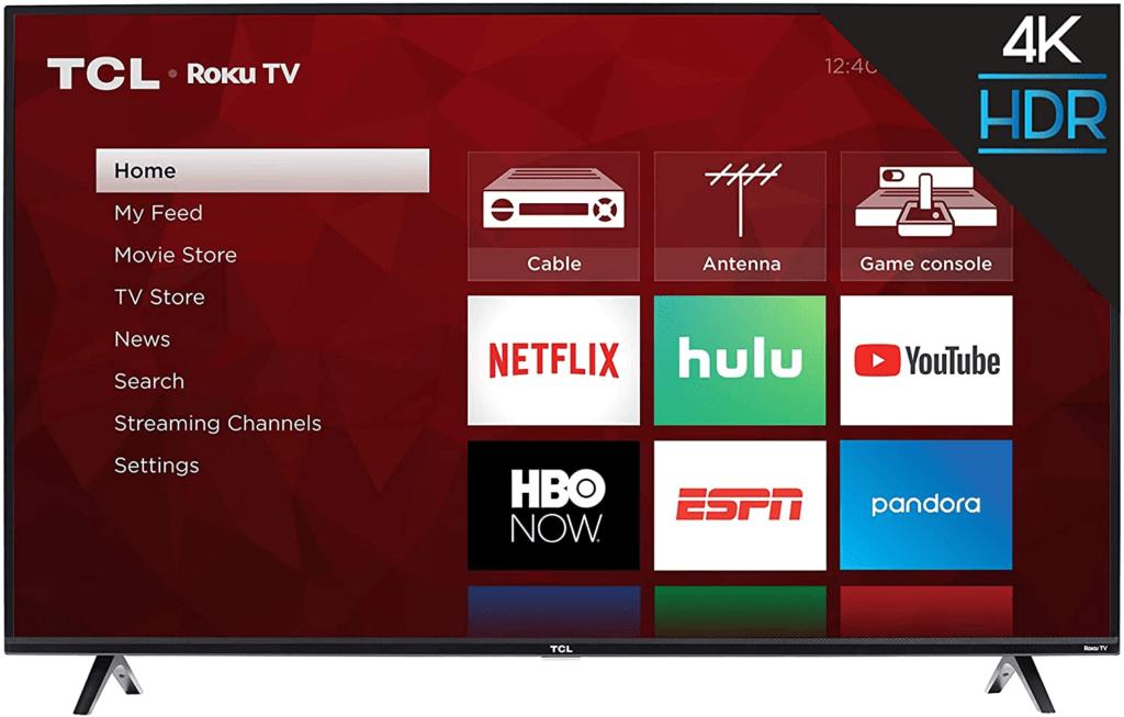 TCL com Roku: melhor sistema operacional para Smart TV